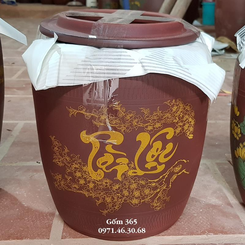 Mua Chum đựng Gạo Bát Tràng chất lượng tại Bình Dương