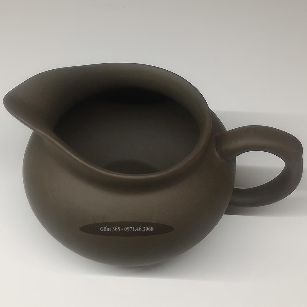 Phụ kiện bộ trà tử sa Bát Tràng tống trà gốm xanh
